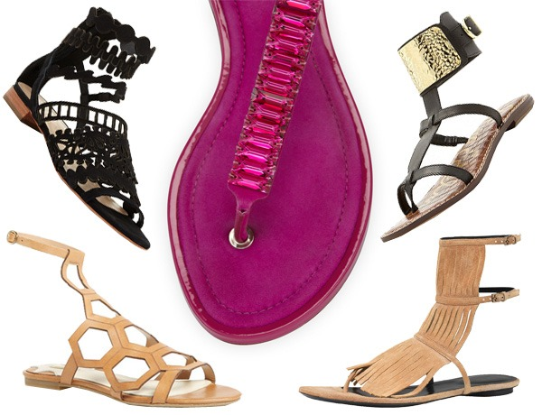 Look of the Week: So Many Sandals for Spring!