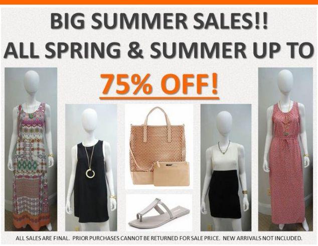Big Summer Sale at Splurge!