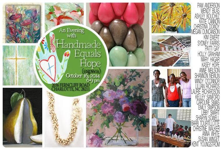 An Evening with Handmade Equals Hope
