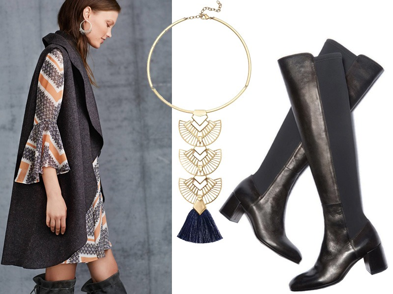 Look of the Week: The Perfect Layering Piece for Fall