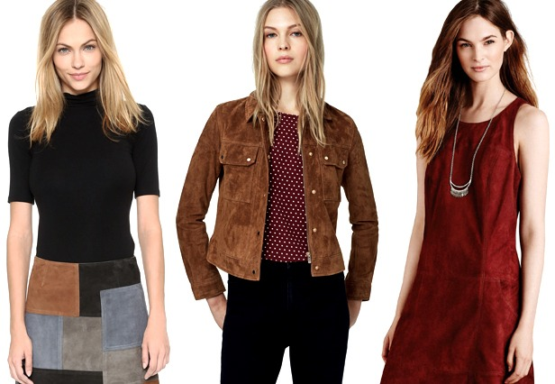 Look of the Week: Stand Out in Suede