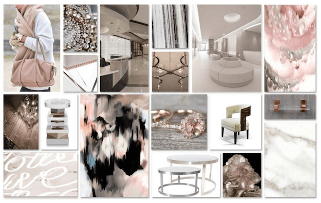 Design with Rose	Gold and Serenity	: The Top Colors of 2016