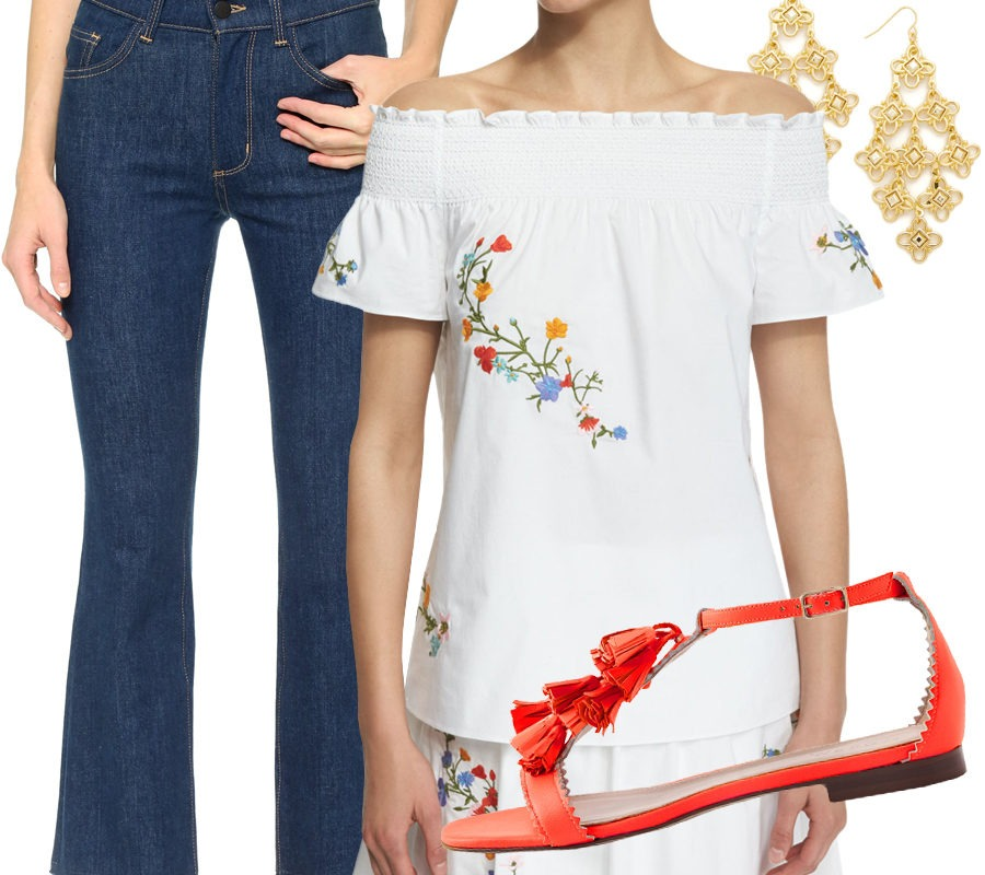 Look of the Week: Flattering and Fun Off-The-Shoulder