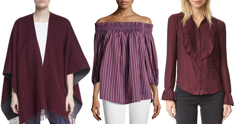 Look of the Week: Shades of Berry