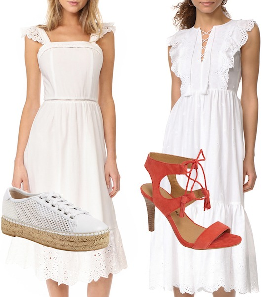 Look of the Week: Eyelet…Take Two