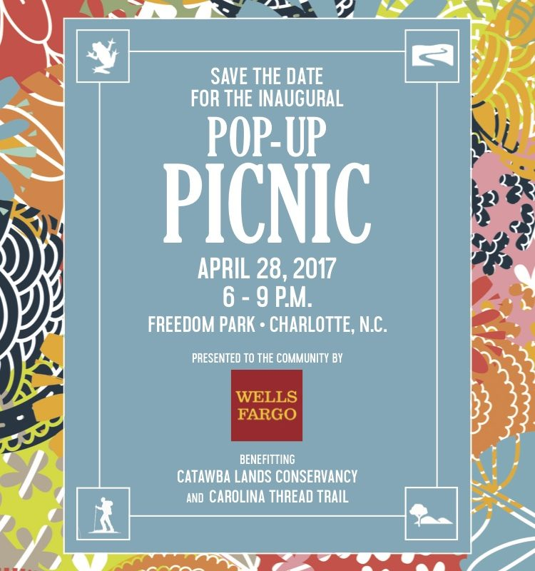 Catawba Lands Conservancy's Inaugural Pop-Up Picnic
