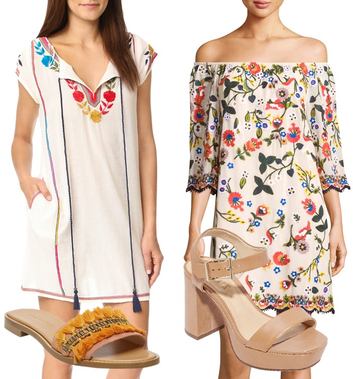 Look of the Week: Embroidered Tops and Dresses