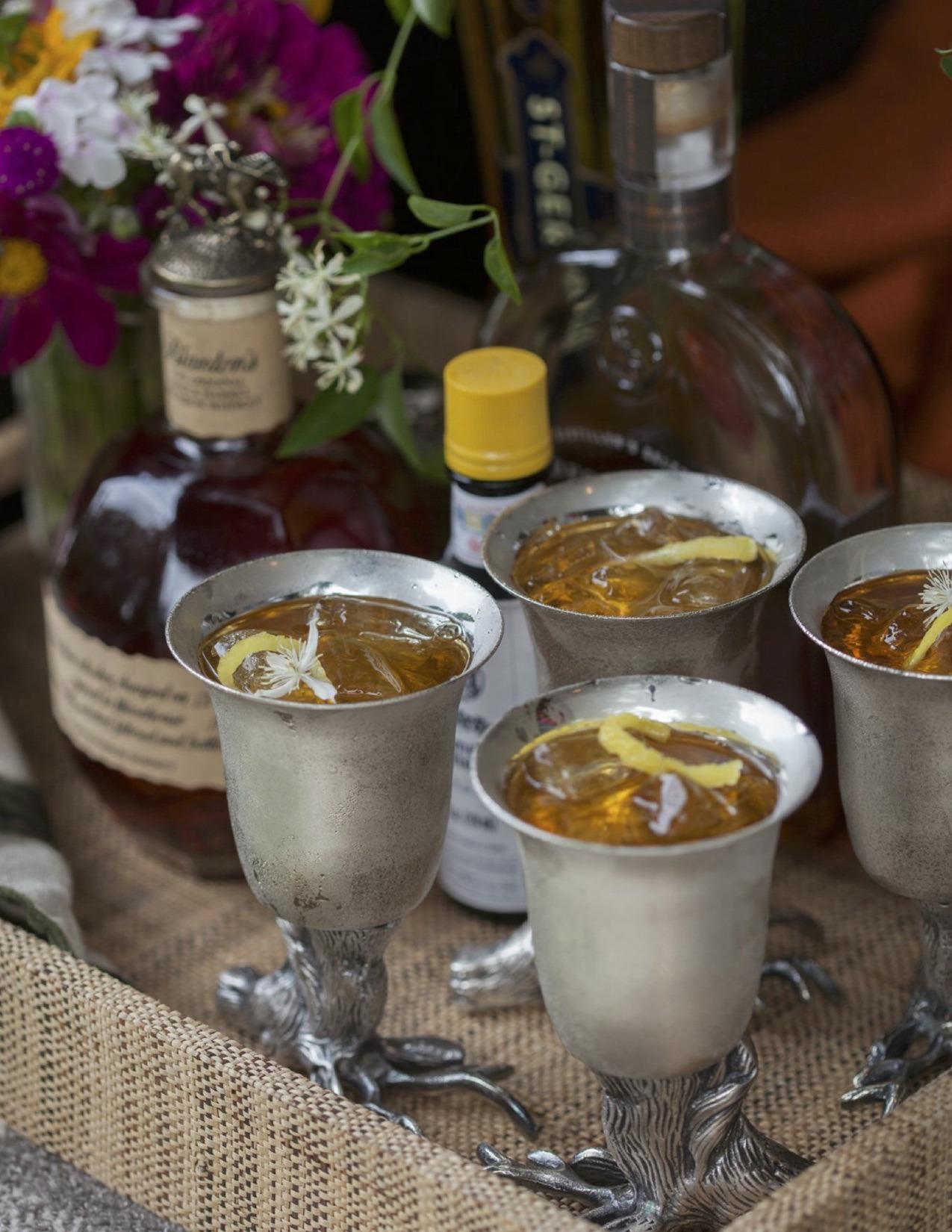 Elderflower Old Fashioned