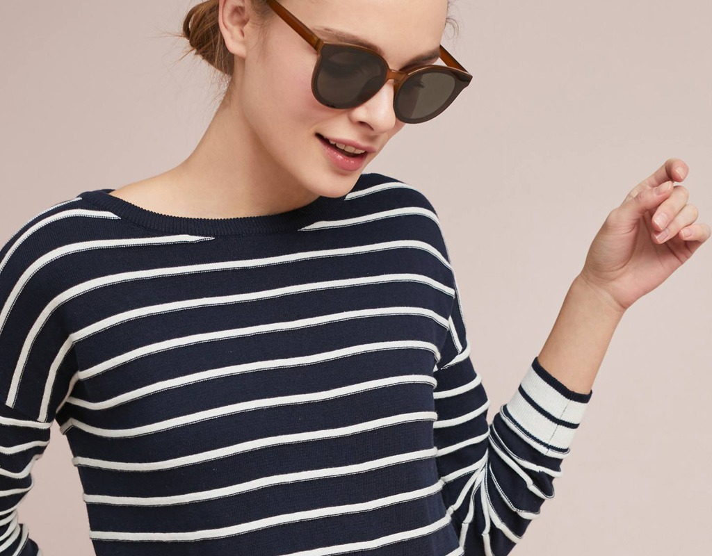 Look of the Week: More Stripes for Spring