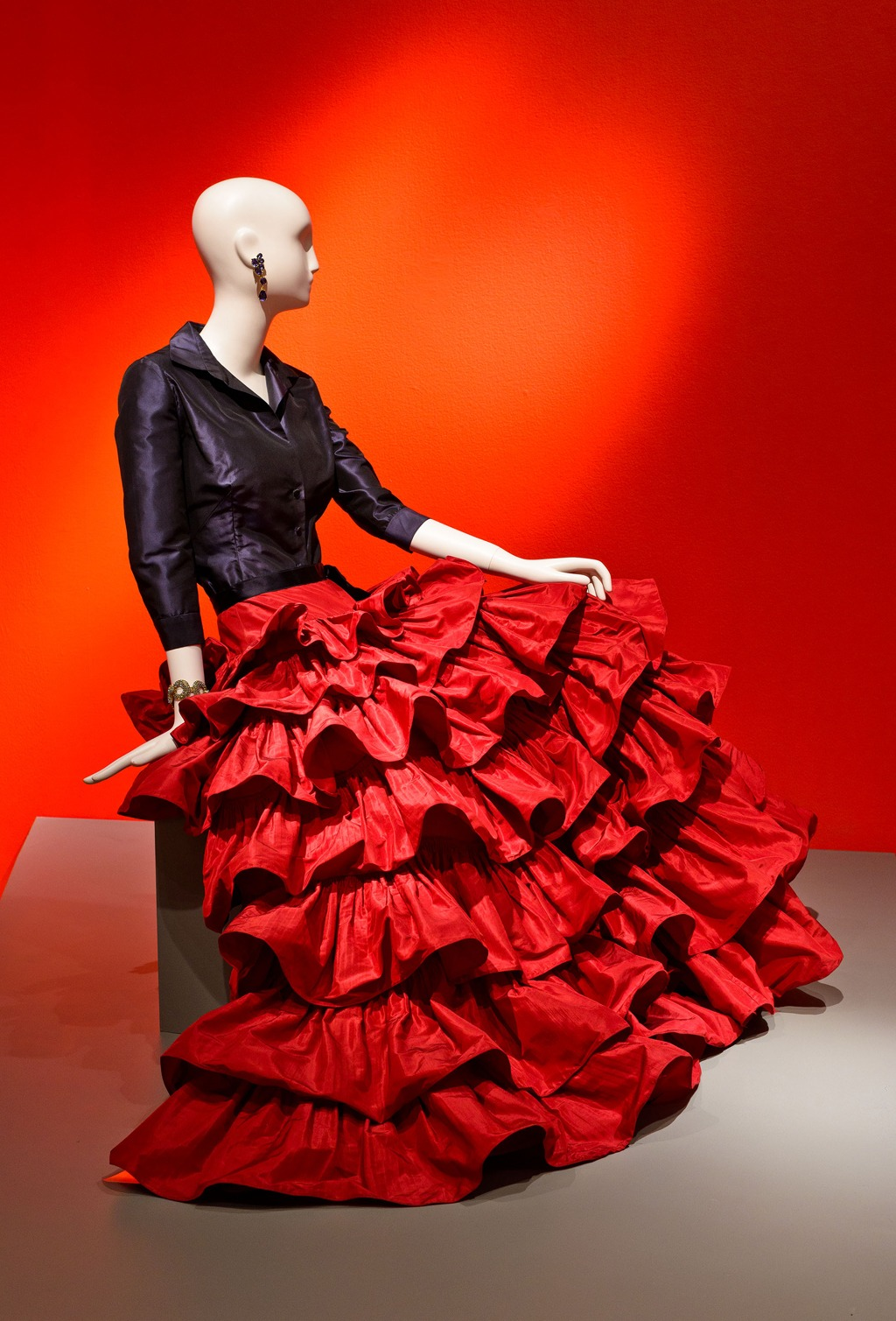 Oscar de la Renta, Custom Evening Ensemble