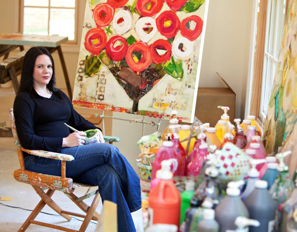 What Inspires Artist Christy Kinard?