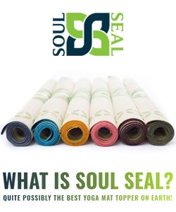 Soul Seal Yoga Mat Topper Ad