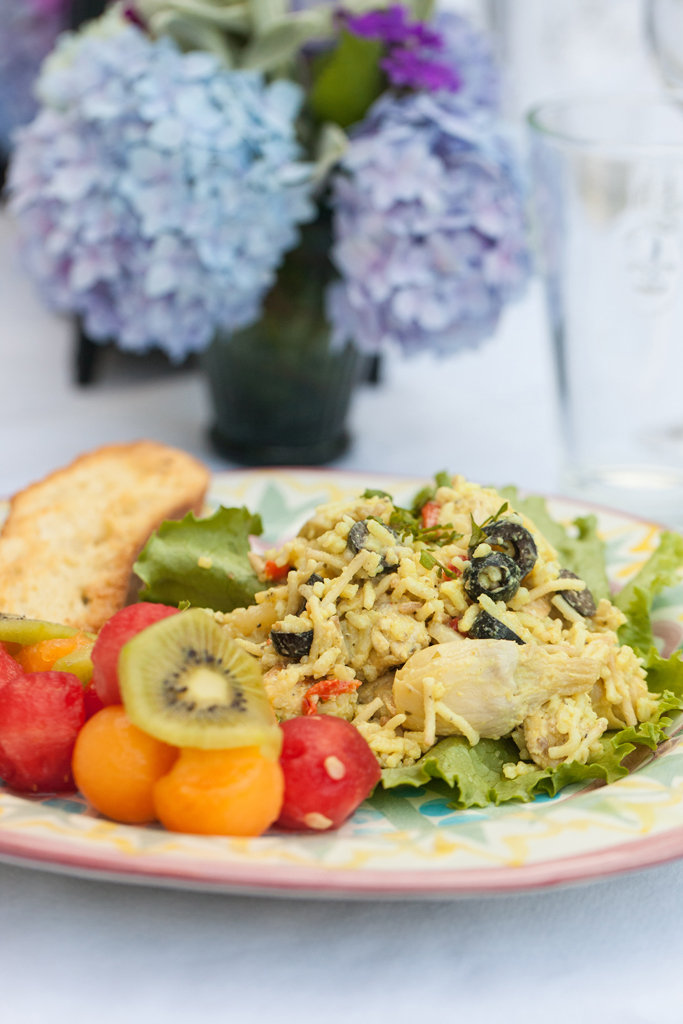 Curried Chicken and Rice Salad