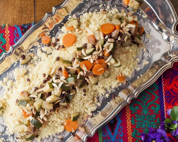 Quick Moroccan Vegetable Couscous
