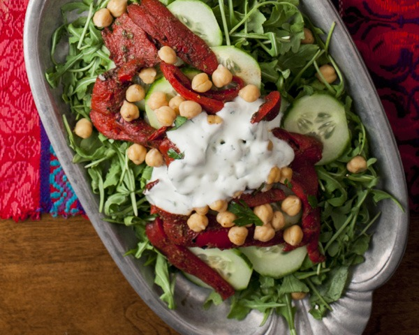 Simple Salad for Moroccan Feast