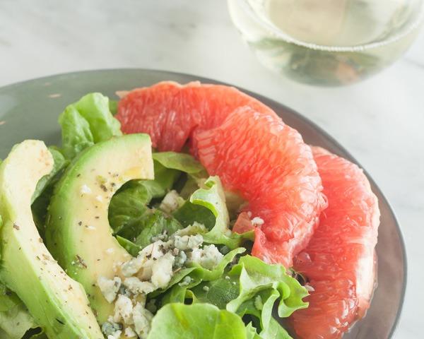 Peachy Easy Avocado and Citrus Salad