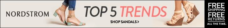 Nordstrom Sandal Ad