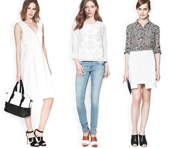 look of the week white hot