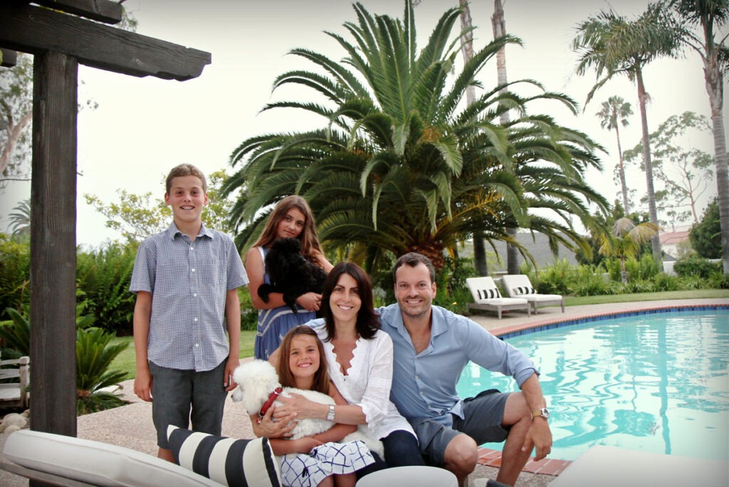 Family-by-the-pool