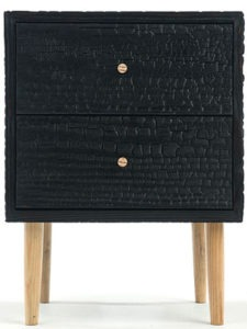 Charred Commode by Moran Woodworked.