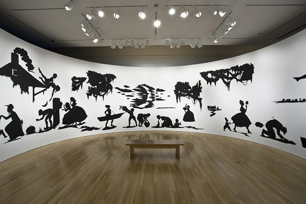 Installation view: Kara Walker: My Complement, My Enemy, My Oppressor, My Love, Hammer Museum, Los Angeles, 2008. Photo: Joshua White