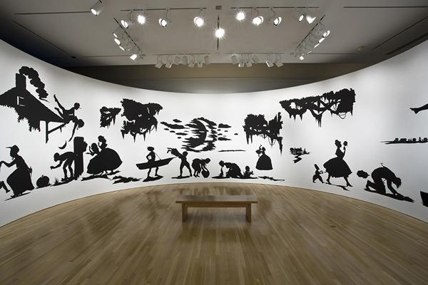 Installation view: Kara Walker: My Complement, My Enemy, My Oppressor, My Love, Hammer Museum, Los Angeles, 2008. Photo: Joshua White