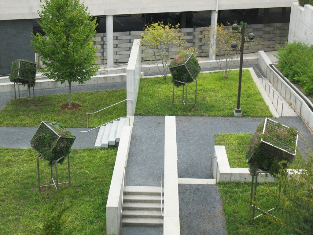 Terra Verte, 2014. May 31, 2014 - May 31, 2015. Jane & Harry Willson Sculpture Garden, Georgia Museum of Art