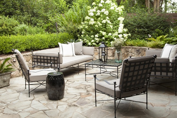 Furniture from the Amalfi Vita Collection through Kolo Collection.