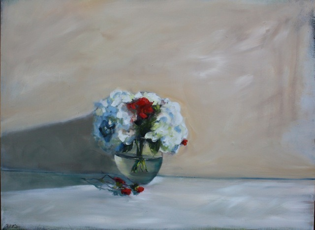 """""""Just to Say I Love You"""", 30 x 40, oil on canvas"""