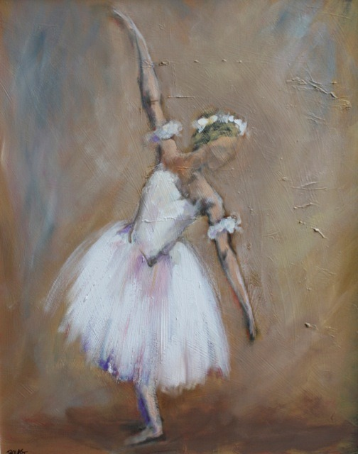 """Recital"", 24 x 30, oil on canvas"