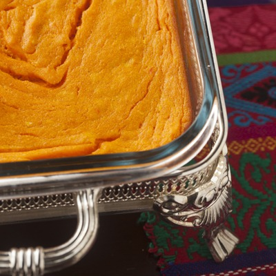 Entertaining: Carrot Soufflé