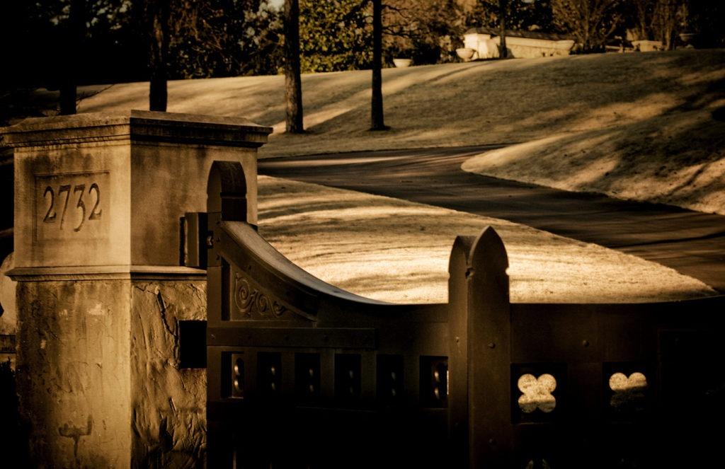 European garden design in Nashville