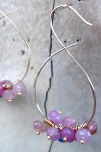 Sapphire Sorbet Earrings