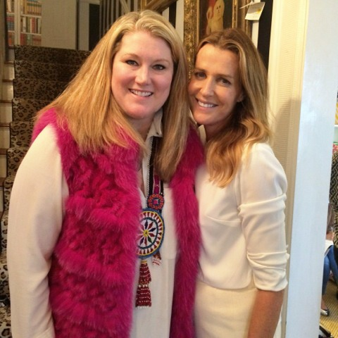 Holly Phillips and India Hicks
