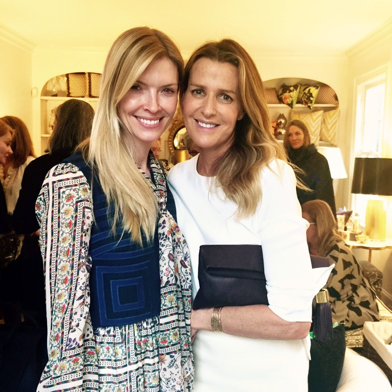 India Hicks and Chandra Johnson