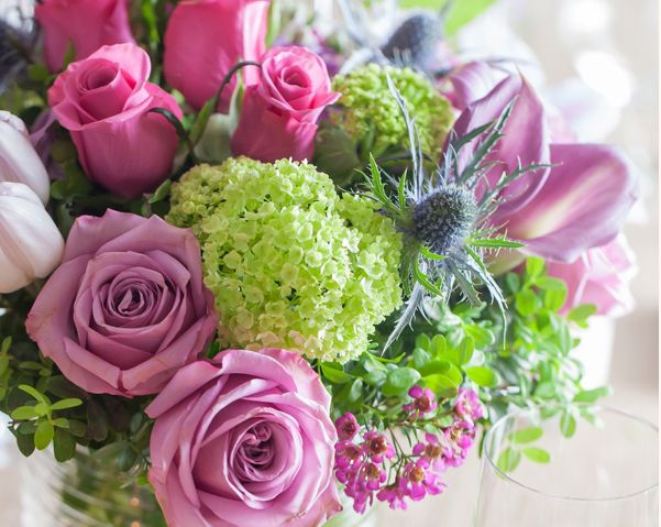 mothers day flower arrangement