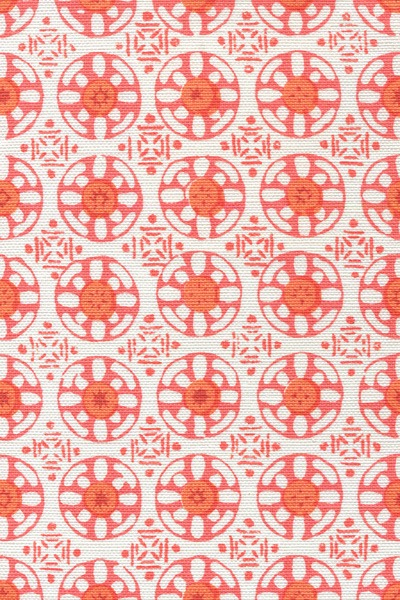 Kediri Batik Bright Orange