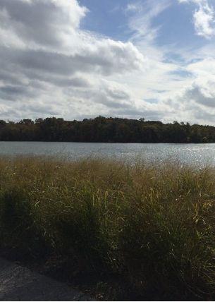Overlooking the Potomac River at Rock Creek Park.