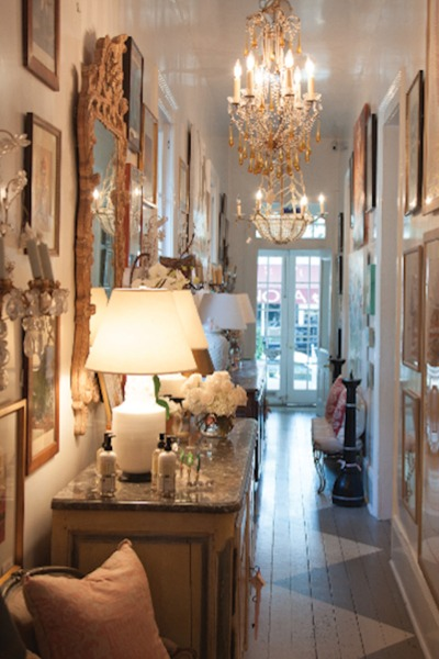 Hallway at Bremermann Designs