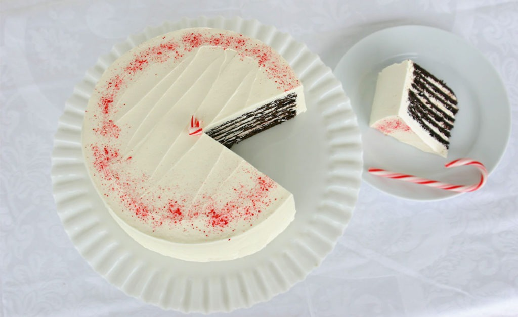 7-Layer Peppermint Cake