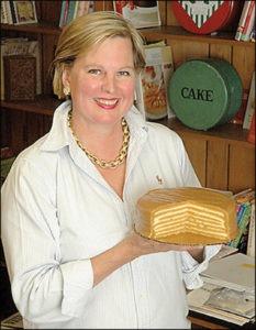 Caroline and the cake (2)