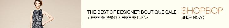Shopbop Banner Ad