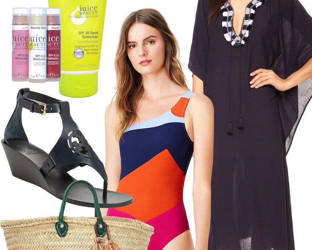 Look of the Week: What's in Your Beach Bag?