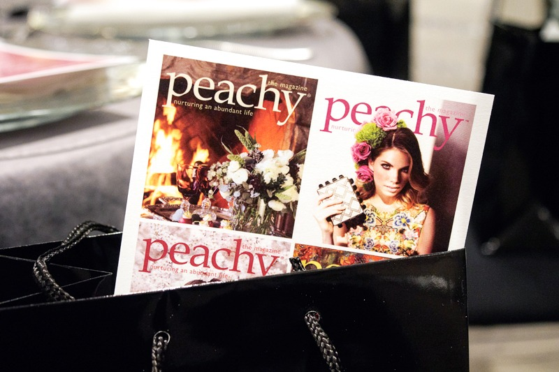 Peachy the Magazine at Neiman Marcus Dallas
