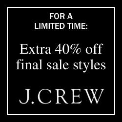 JCrew Sale Ad