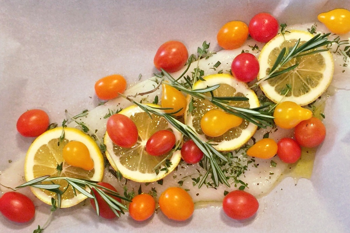 Herb Roasted Fish Recipe from Hilliard Studio Method