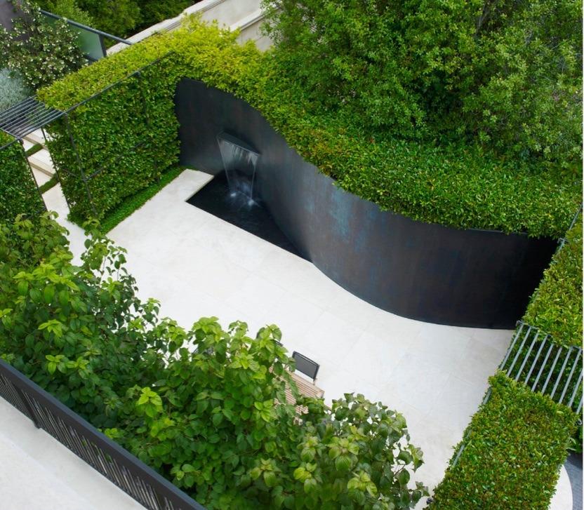 verdant walls a garden design