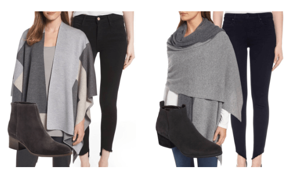 Nordstrom Anniversary Sale's capes jeans booties