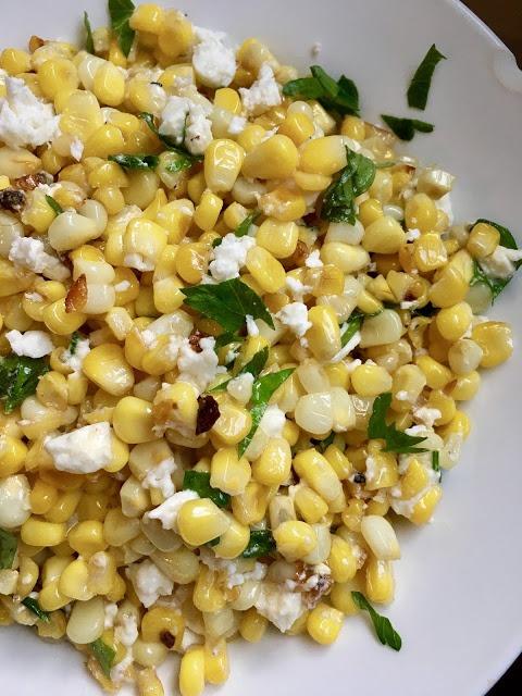 Skillet Street Corn Salad