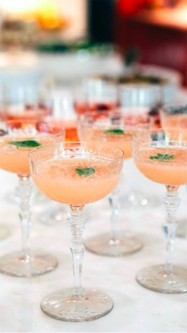 Christmas Brunch Pamplemousse Cocktail